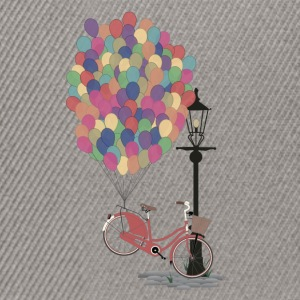 Sand beige Love to Ride my Bike with Balloons T-Shirts T-Shirts - Snapback Cap