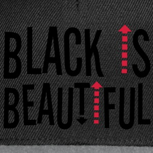 Black is beautiful ! Magliette - Snapback Cap