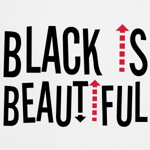 Black is beaytiful ! Camisetas - Delantal de cocina