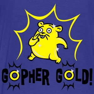 gophergold5 Hoodies - Men's Premium T-Shirt