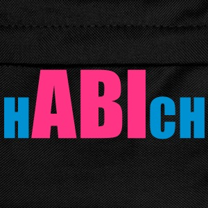 ABI hab ich | hABIch T-Shirts - Ryggsekk for barn