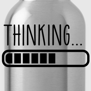 loading laden thinking denken T-Shirts - Trinkflasche
