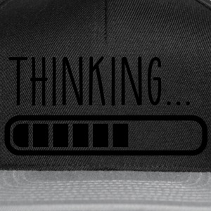 loading laden thinking denken T-Shirts - Snapback Cap