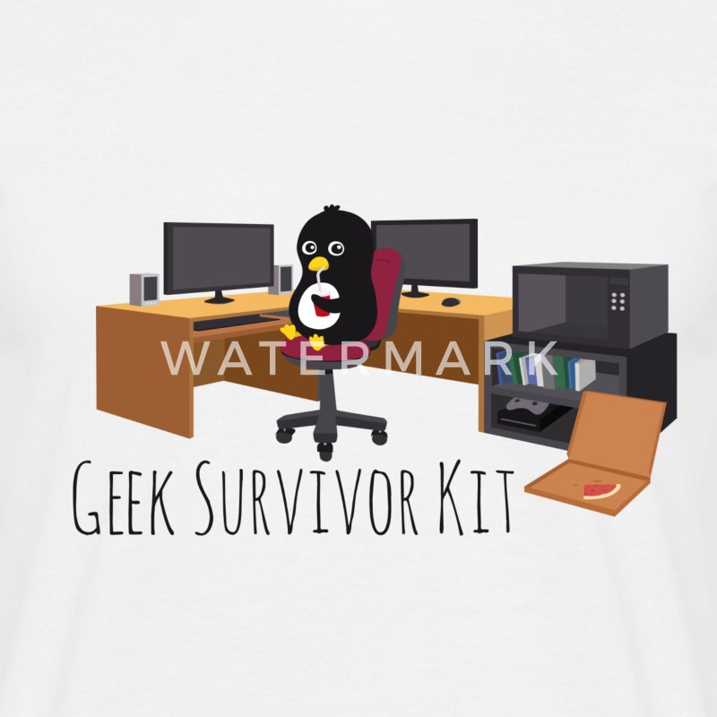 Geek Survivor Kit Tee shirts - T-shirt Homme