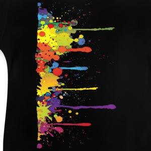 Klecks Malerei / Splat Painting | Kinder Shirt - Baby T-Shirt