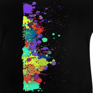 Splat Painting / Klecks Malerei | Teenager Shirt - Baby T-Shirt