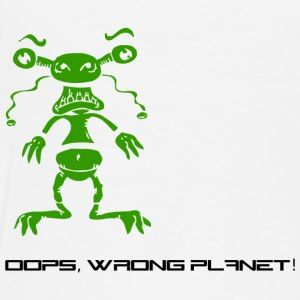 oops, wrong planet - Männer Premium T-Shirt
