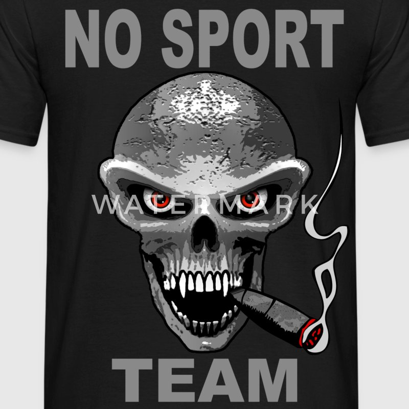 no sport team Tee shirts - T-shirt Homme