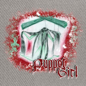 puppet girl Sweat-shirts - Casquette snapback