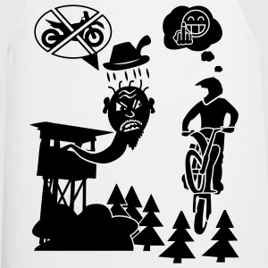 Biker vs Hunter T-Shirt - Kochschürze