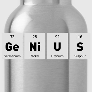 Genius Nerd Geek T-Shirts - Water Bottle