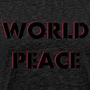 Worldpeace World Peace Fred 2c Gensere - Premium T-skjorte for menn