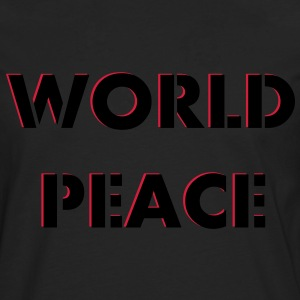 Worldpeace World Peace Fred 2c Gensere - Premium langermet T-skjorte for menn
