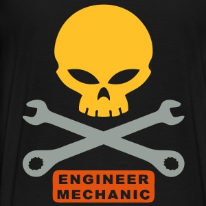 mechanic engineer  Hoodies & Sweatshirts - Men's Premium T-Shirt