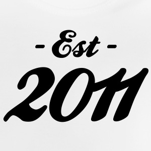 anniversaire - Established 2011 Tee shirts - T-shirt Bébé