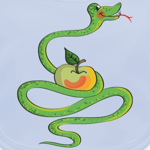Just try this nice and delicious apple Tee shirts - Bavoir bio Bébé