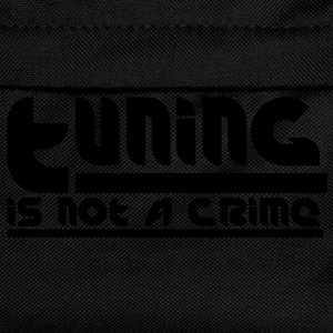 Tuning is not a crime T-Shirts - Kinder Rucksack