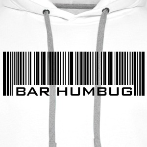 Bar Humbug - Anti-Christmas Logo - Men's Premium Hoodie