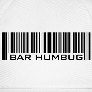 Bar Humbug - Anti-Christmas Logo - Baseball Cap