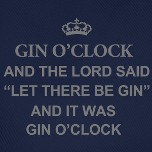 Gin O'Clock And The Lord Women's T-Shirt - Baseball Cap