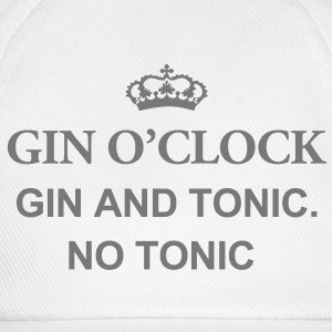 Gin O'Clock Gin And Tonic. No Toni Mug - Baseball Cap