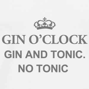 Gin O'Clock Gin And Tonic. No Toni Mug - Men's Premium T-Shirt