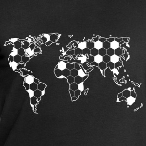 World Map boll Mönster  T-shirts - Sweatshirt herr från Stanley & Stella