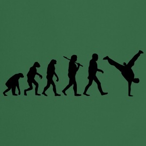evolution of breakdance Sudadera - Delantal de cocina