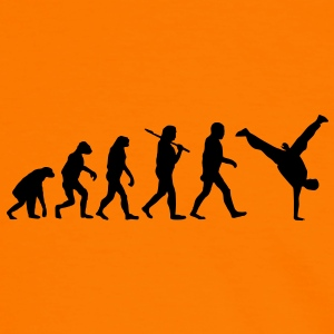 evolution of breakdance Pullover & Hoodies - Männer Kontrast-T-Shirt