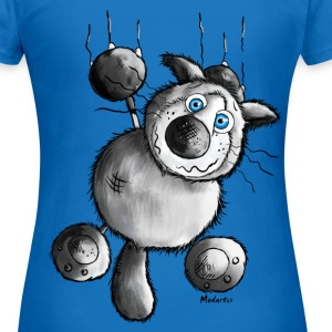 Crazy Cat - tee shirt motif - Siamois Chat Sweat-shirts - T-shirt Femme