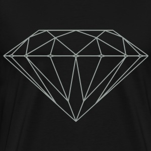 Diamond Shape Hoodies & Sweatshirts - Men's Premium T-Shirt