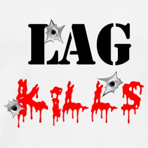 Lag Kills Mug - Men's Premium T-Shirt