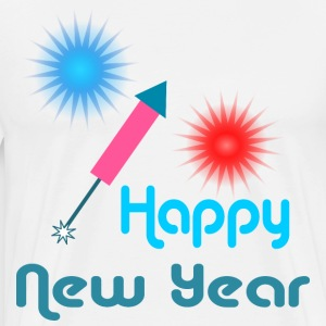 Happy New Year Langarmshirts - Männer Premium T-Shirt