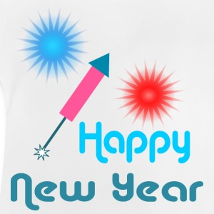 Happy New Year Camisetas - Camiseta bebé