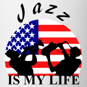 jazz is my life Väskor - Mugg