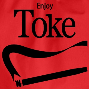 Enjoy Toke - Drawstring Bag