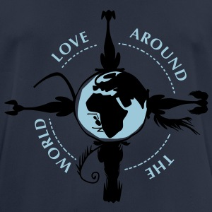 world_for_dogs Pullover & Hoodies - Männer T-Shirt atmungsaktiv