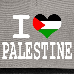 i love Palestine Tee shirts - Casquette snapback