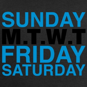 my week | weekend T-Shirts - Männer Sweatshirt von Stanley & Stella