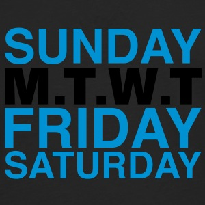 my week | weekend T-Shirts - Männer Premium Langarmshirt