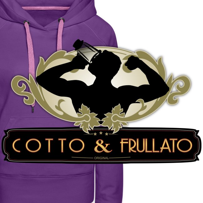 Felpa donna Cotto & Frullato