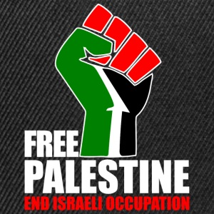 Free Palestine end Israeli Occupation T-Shirts - Snapback Cap
