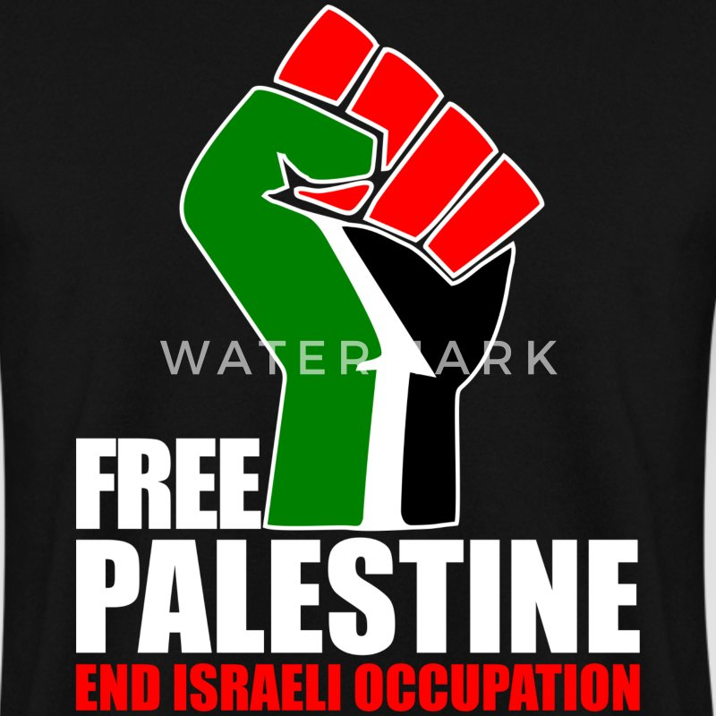 Free Palestine end Israeli Occupation Hoodies & Sweatshirts - Men's Sweatshirt