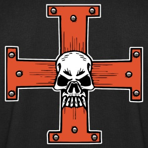 skull of cross Tee shirts - Sweat-shirt Homme Stanley & Stella