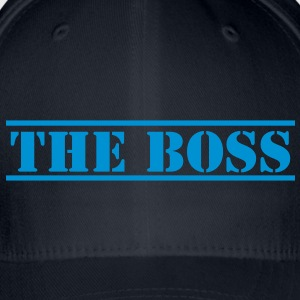 THE BOSS in stencil Shirts - Flexfit Baseball Cap