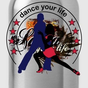Dance your life  T-Shirts - Vattenflaska