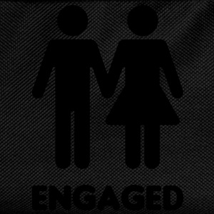 Engaged Couple - WC Style - Kids' Backpack