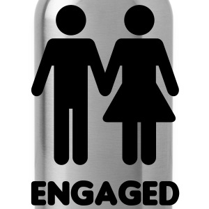 Engaged Couple - WC Style - Water Bottle