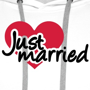 Just married T-Shirts - Männer Premium Hoodie
