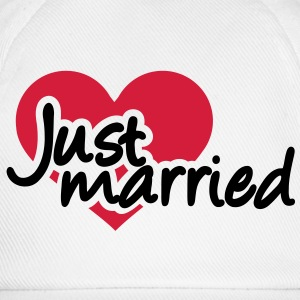 Just married T-Shirts - Baseballkappe